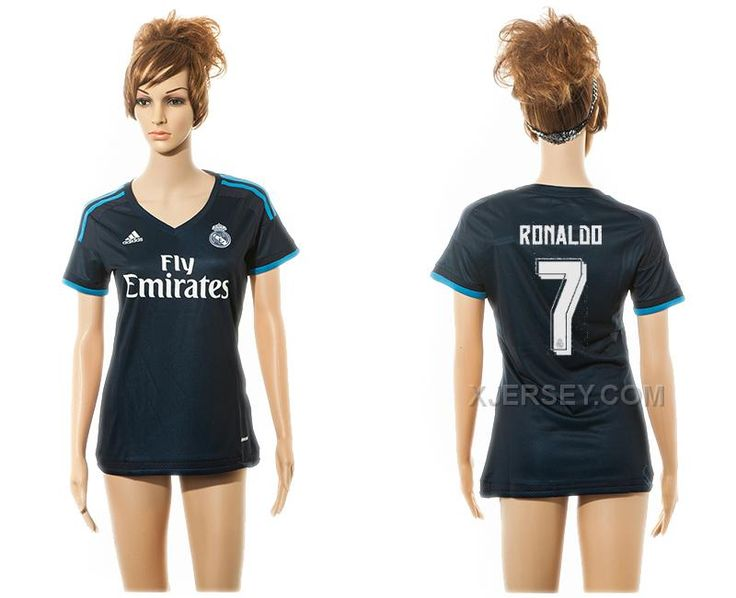 http://www.xjersey.com/201516-real-madrid-7-ronaldo-third-away-women-jersey.html 2015-16 REAL MADRID 7 RONALDO THIRD AWAY WOMEN JERSEY Only $35.00 , Free Shipping!