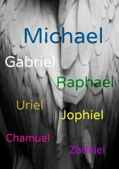 Who are the 7 Archangels? What chakra, element, zodiac sign, and more... is assoiciated with each Angel?