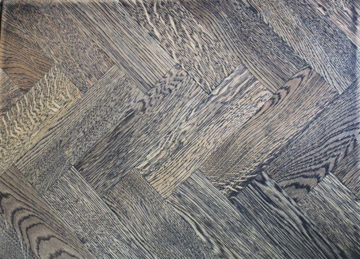 Black Solid parquet flooring  Natural herringbone European oak parquet wood flooring. Bespoke Oak parquet wood floors. Rustic or prime grade oak parquet floors with a wide range of oils