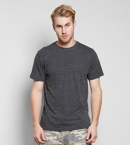 Triblend Crew Neck Tee - Black  #ethical #fashion  https://threadharvest.com.au/collections/all-mens-clothing