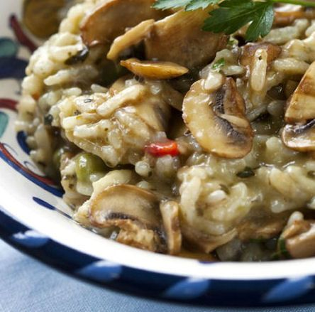 Slow Cooker Risotto Recipe - The Wilderness Wife - Cooking, crafting & gardening in the North Maine Woods