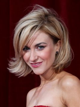 Pictures : Katherine Kelly Hairstyles - Katherine Kelly Swingy Bob Hairstyle