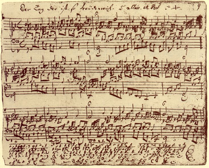 "Beethoven's ""Fantasy and Fugue"" ~ original manuscript  Discover the coolest shows in New York at www.artexperience..."