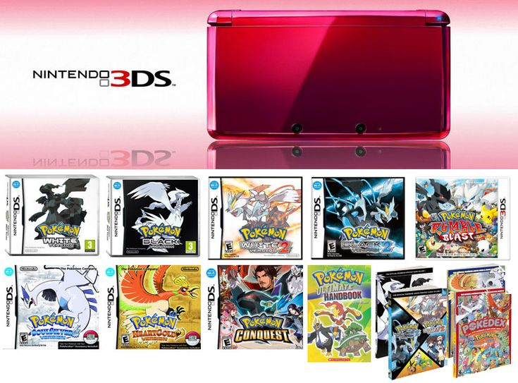 Pokemon Prizes  Win A Nintendo 3DS with All Pokemon Games