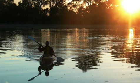canoe hire, guided tours, canoe camping expeditions, in the beautiful Riverland of South Australia