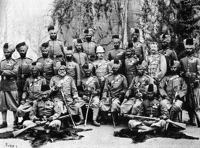 Sikh Infantry in Egypt Around The Time Of WW1