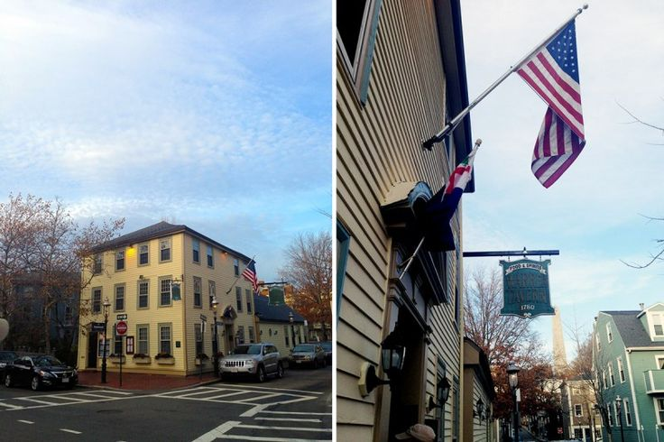Historic Warren Tavern in Charlestown, Boston, Massachusetts