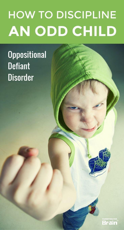 Oppositional Defiance Disorder - Disciplining #ODD Kids #parentingadvice #parentingforbrain