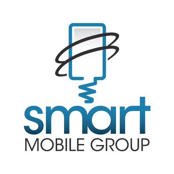smart mobile group � logo design logo design pinterest