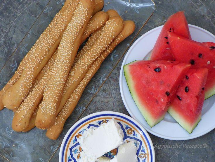Bassumat Boksomat Ägypten Rezept Brotstangen Baksumat Boqsomat