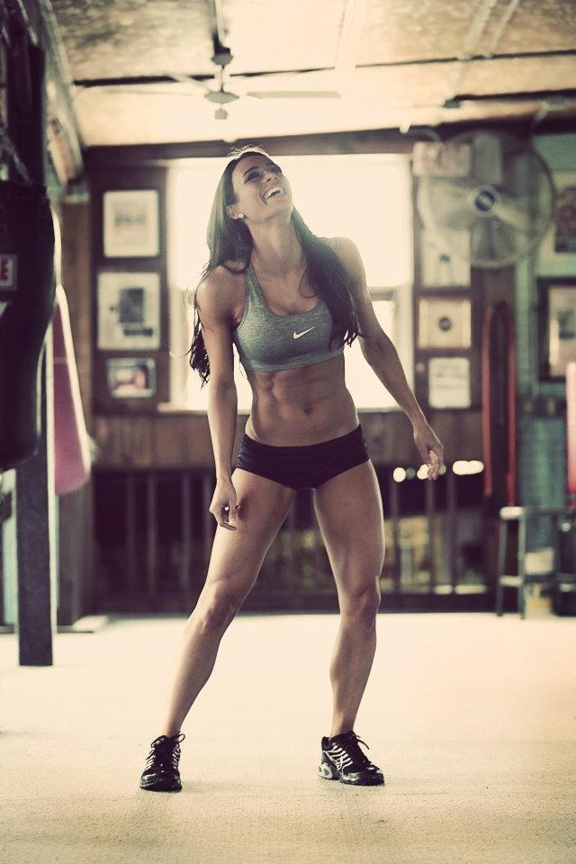 IFBB Bikini Pro Juliana Daniell-- Is it bad that I picture my face on her body when I run? lol