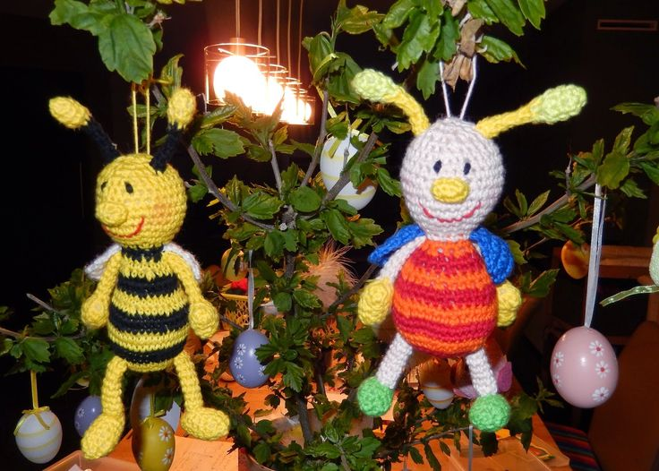 Funny beetle & Funny bee (Free - Dutch)