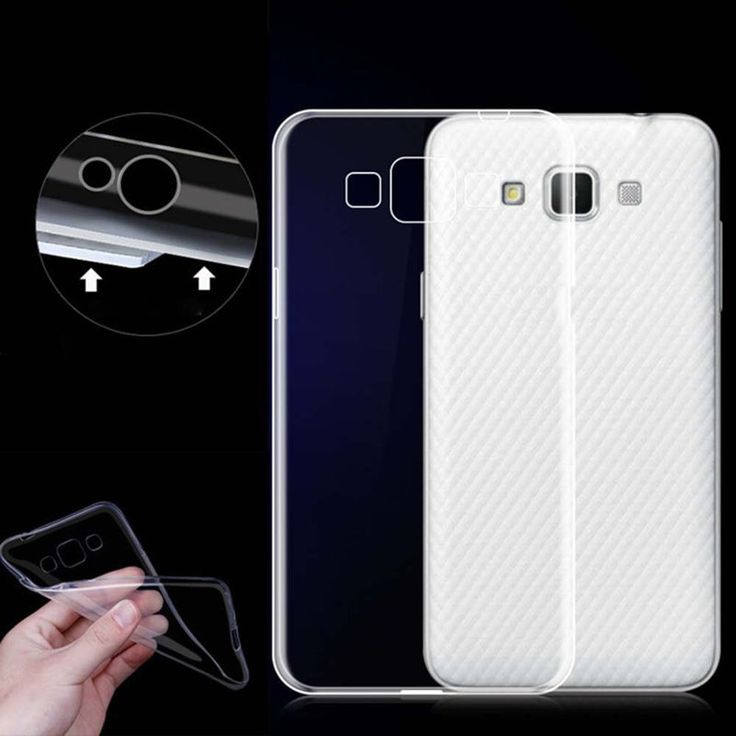 Ultrathin Crystal Clear Silicone TPU Gel Back Soft Case Cover for Samsung Galaxy #UnbrandedGeneric