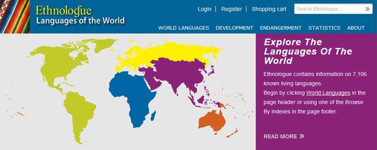 한글 그리고 세계 언어 통계 사이트