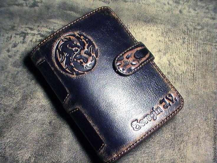 """Купить Бумажник """" Япона мама""""!:-) - бумажник мужской, бумажник ручной работы"""