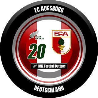 DNZ Football Buttons: FC Augsburg