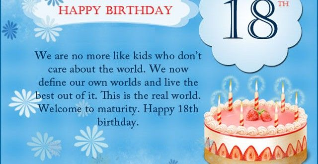 26 Poetic 18th Birthday Quotes: 18th-Birthday-Wishes-for-Son-Daughter-Happy-Birthday