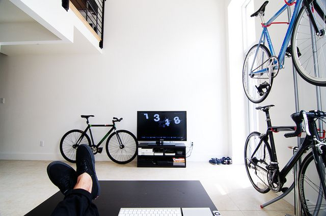 Home for bikes