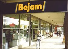 Memories of Edgware Bejam and my nana serving black forest gateau that was still frozen in the middle