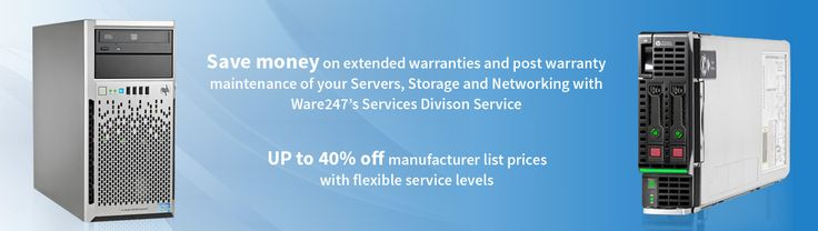 We offer up to 40% off manufacturer list prices [with flexible service levels] all year long. More information on www.ware247.co.uk