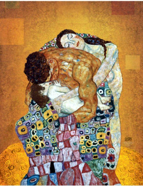 Art Prints The Kiss Gustav Klimt Canvas Giclee Printed Reproduction