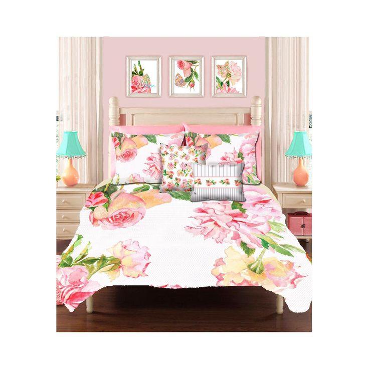 Shabby Chic Bedding Teen Duvet Girls Cover Little Girl