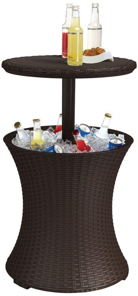 Beverage Refrigerator Drink Cooler Bar Cocktail Pool Hot