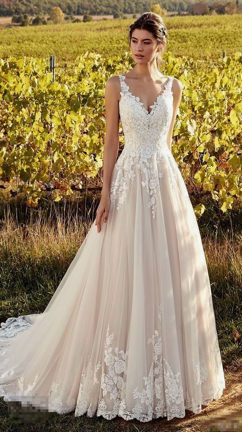 New Romantic Bridal Dresses – Brautkleid – #Brautkleid #Bridal #Dresses #Romanti…