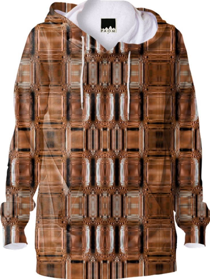 Hoodie in bronse style from Print All Over Me