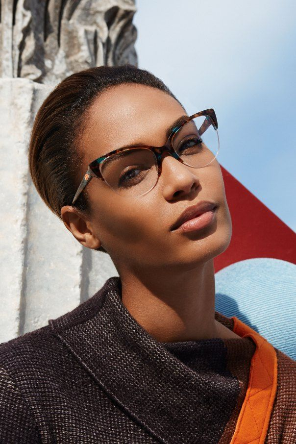 Ad Campaign: Missoni Fall/Winter 2014-2015 Model: Joan Smalls Photographer: Viviane Sassen #glasses #sunglasses