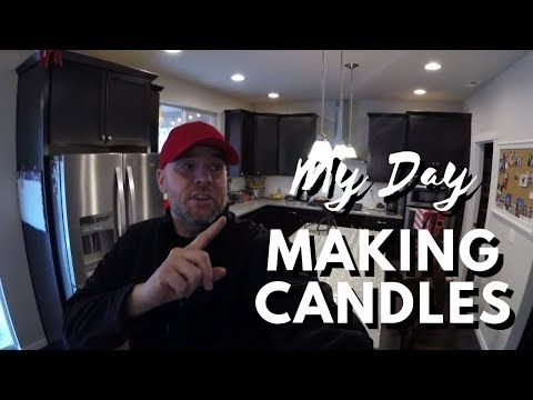 Taking advantage of a day off to make candles - YouTube