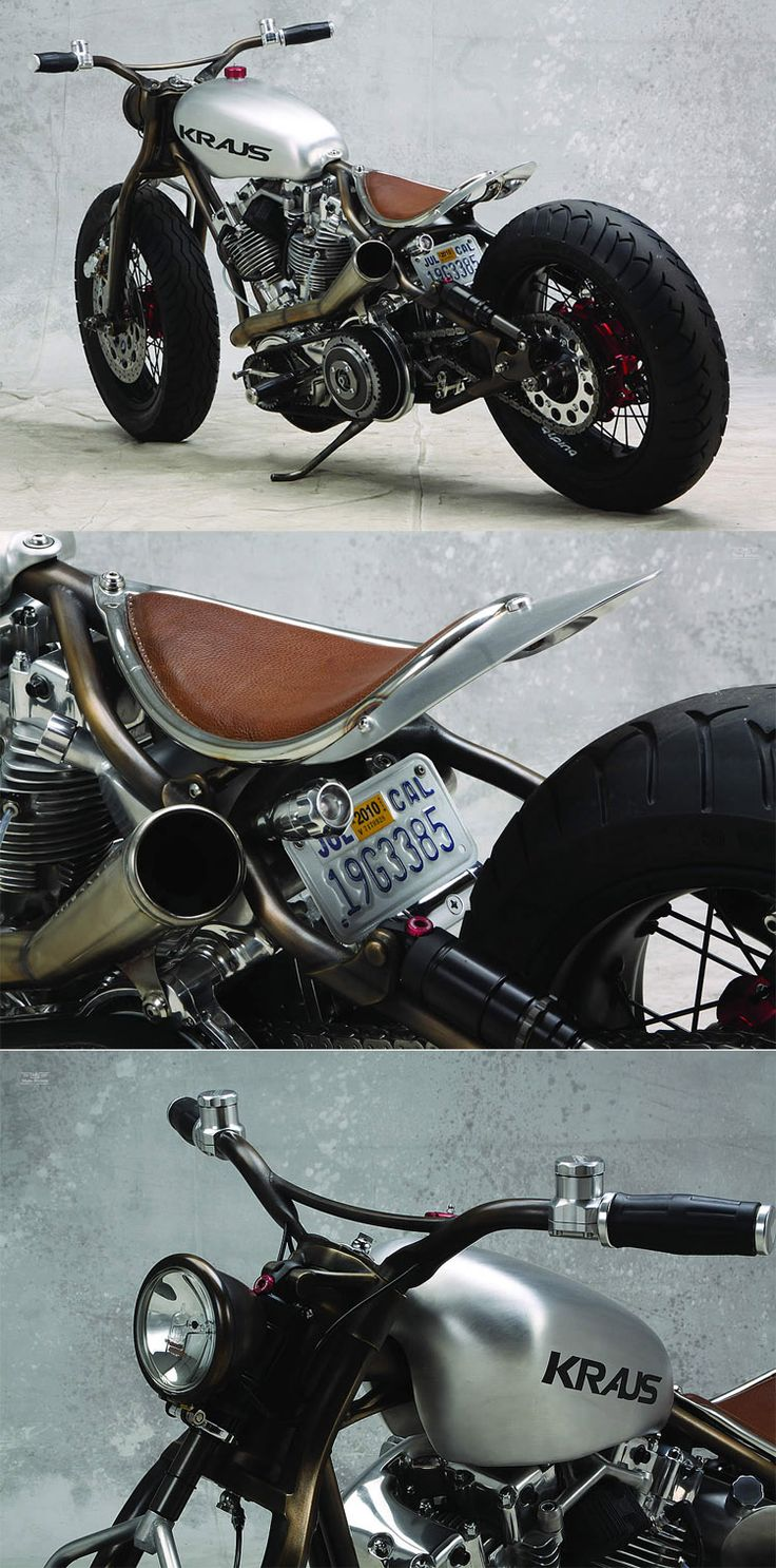 Kraus Motor Company, not sure if I like this bike or if it's really ugly