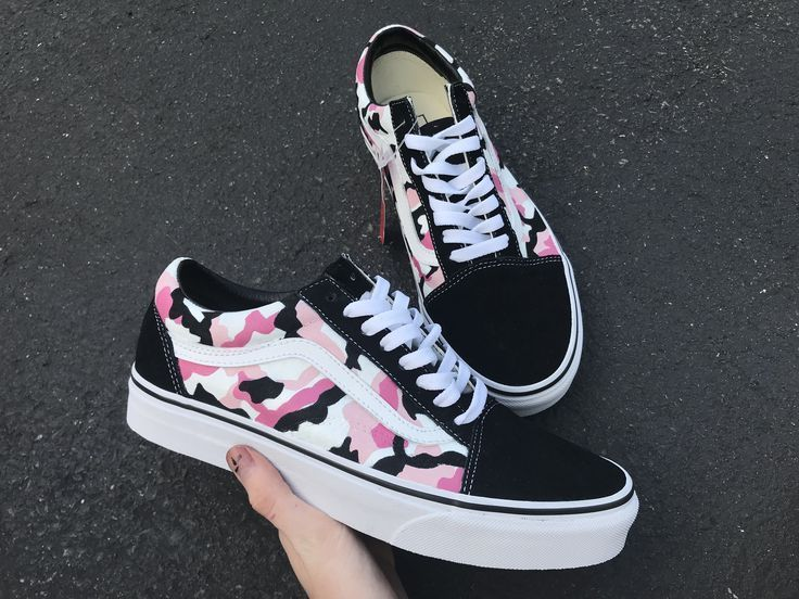 Vans Camo Rosa   – Fashion and Designs!✍