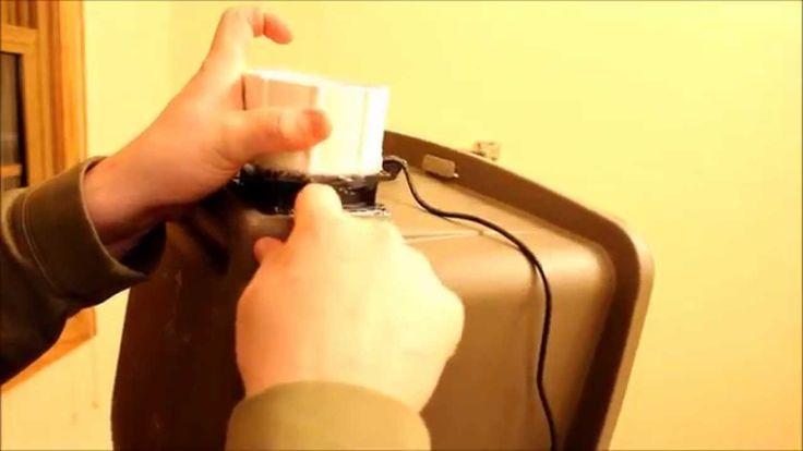 Electric Vented Cat Litter Box