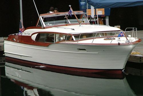 1959 Chris Craft, PEARL, via Flickr.