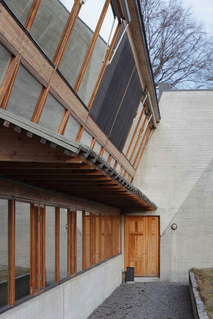 Sverre Fehn - Ivar Aasen Centre, Hovdebygda 2000. Photos (C) David Borland. SUBTILITAS