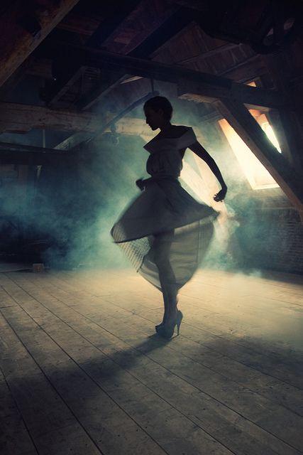 Dark Romance - The Dress by Eva van Oosten, via Flickr