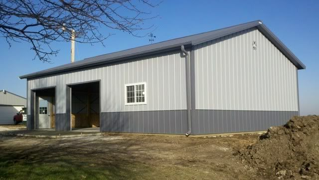 76 best images about garage construction on pinterest for Usa pole barns