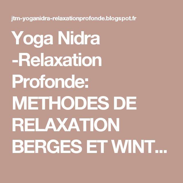 relaxation wintrebert