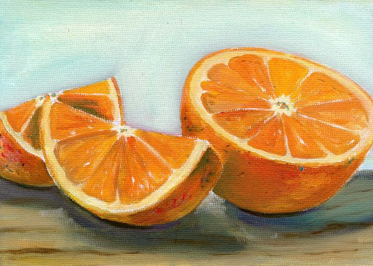 paintings of oranges | Orange Painting - Orange Fine Art ...