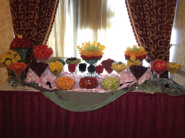Fruit Buffets   Fruit Buffet Edible Fruit