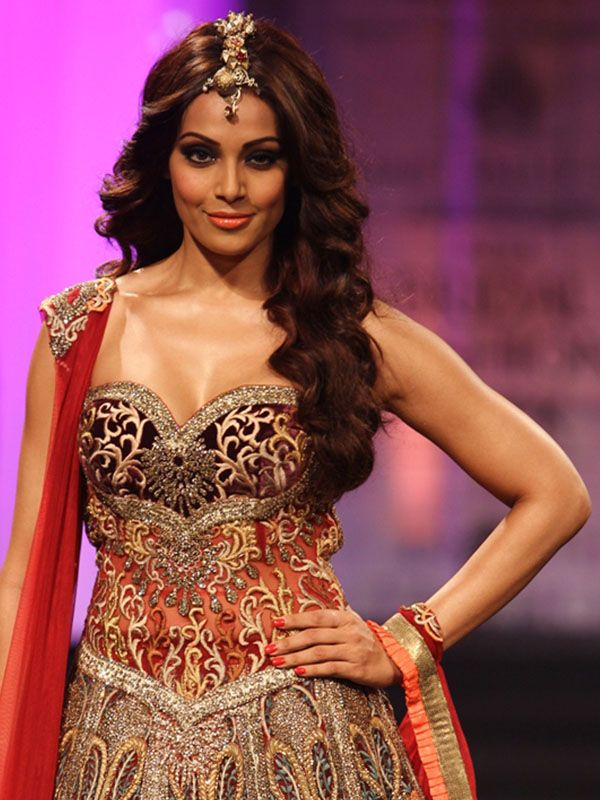 Indian Bridal Couture on the catwalk
