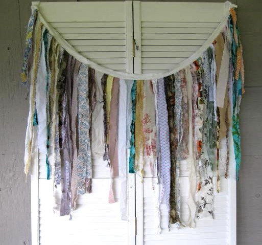 Kitchen Curtains Fabric Vintage Ki Curtains Fabric: 21 Best Images About Rag Curtains On Pinterest