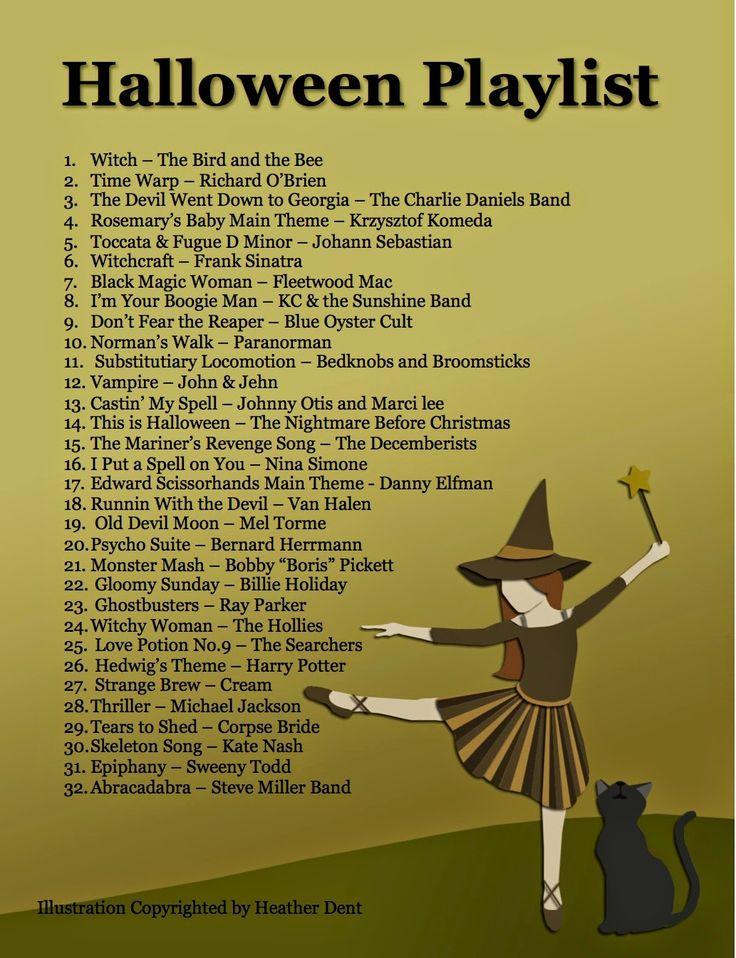 Halloween Playlist (With images) Halloween playlist