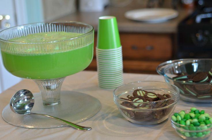 Hulk Punch- Green Hawaiian Punch, Sprite & Lime Sherbet