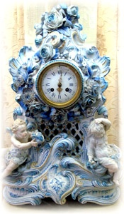 Antique Victorian Clocks - Will Baker.  My 92yr old grandma has a clock just like this;)