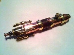 Sonic Screwdriver from steampunkvapors. #steampunk #doctorwho