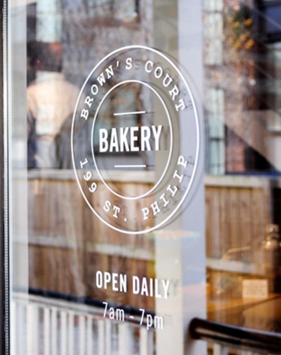 Brown's Court Bakery   199 Saint Philip Charleston, SC   USA