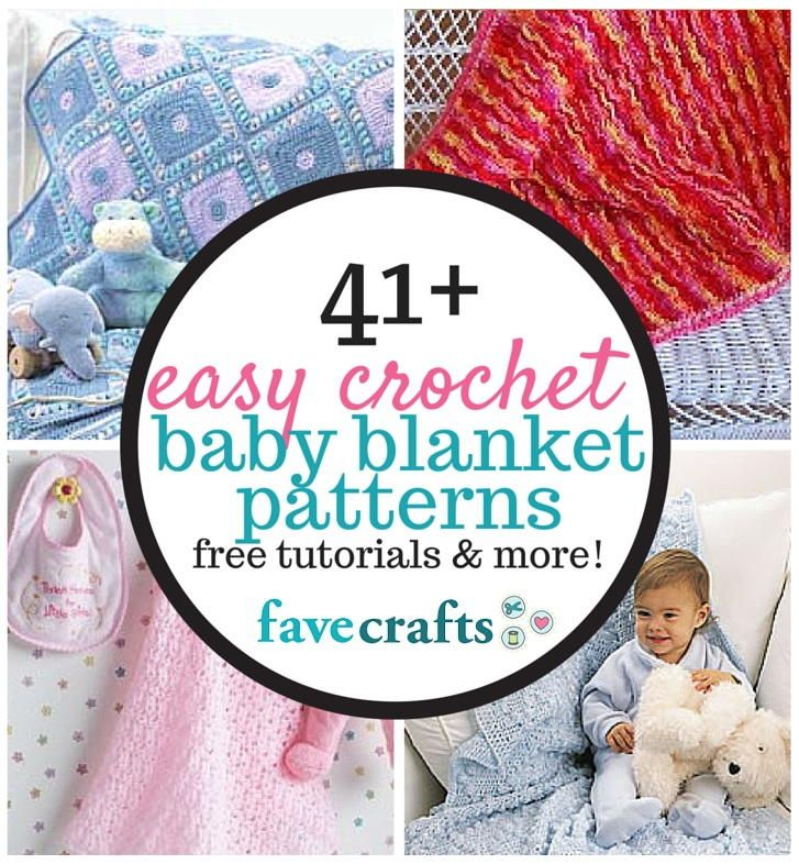 When it comes to baby shower gifts, nothing says you care quite like crocheted baby blankets. Share the love with one of these 41 Easy Crochet Baby Blanket Patterns.