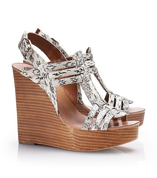 Tory Burch leslie #shoes #wedge #sandals